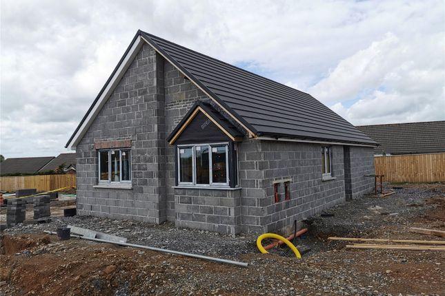 Thumbnail Bungalow for sale in Plot 4 The Dale, Land South Of Kilvelgy Park, Kilgetty, Pembrokeshire