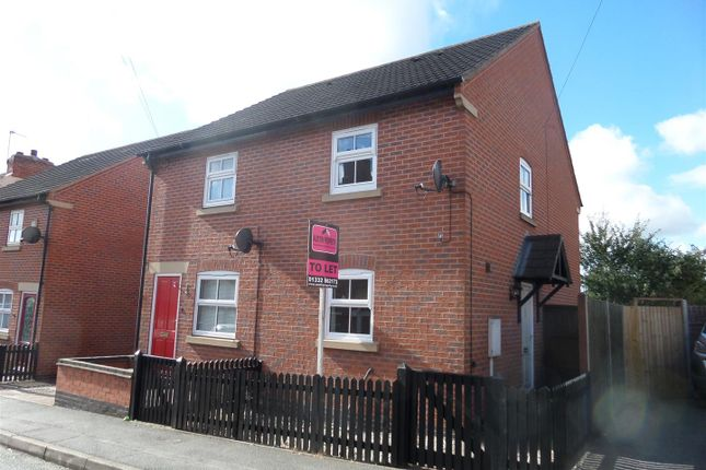 2 bed semi-detached house to rent in Frederick Street, Woodville, Swadlincote, Derby DE11