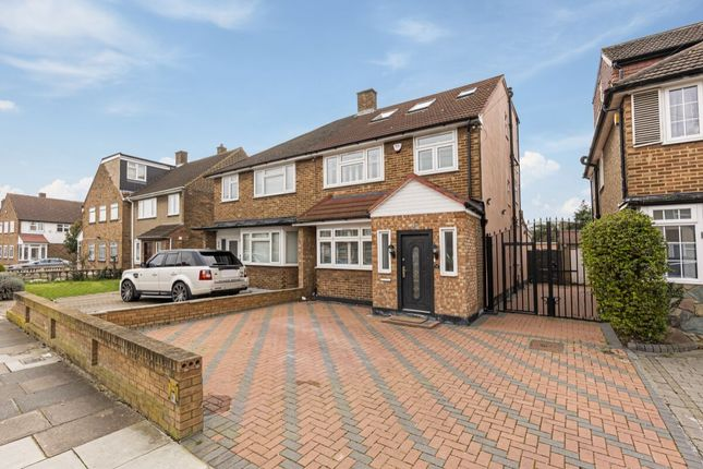 Thumbnail Semi-detached house for sale in Rochford Avenue, Chadwell Heath, Romford