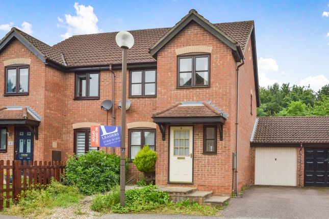 Thumbnail Semi-detached house to rent in Beresford Close, Emerson Valley, Milton Keynes