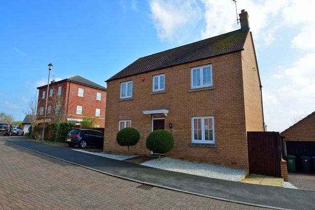 Thumbnail Detached house for sale in Long Hassocks, Coton Park, Rugby
