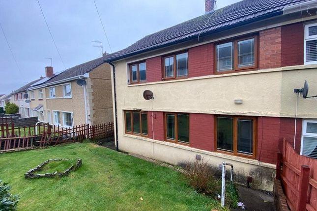 Thumbnail Semi-detached house for sale in Bryn Nedd, Cimla, Neath, Neath Port Talbot.