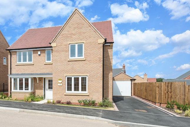 Thumbnail Detached house for sale in Derby Road, Hathern, Loughborough