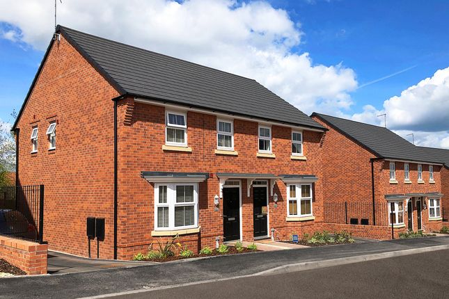 "Thumbnail Semi-detached house for sale in ""Archford"" at Whetstone Street, Redditch"