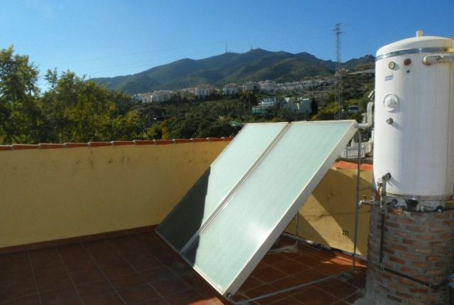 Solar Panels And Mountain Views