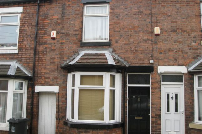 Thumbnail Terraced house to rent in Enderley Street, Newcastle, Staffordshire