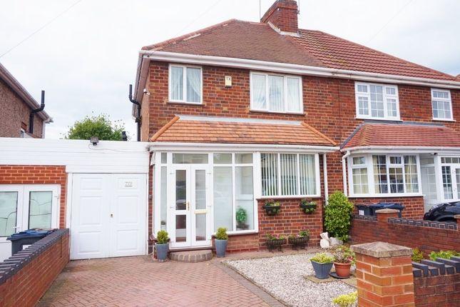 Thumbnail Semi-detached house for sale in Springthorpe Road, Erdington, Birmingham