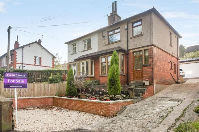 Thumbnail Semi-detached house for sale in Kebroyd Avenue, Sowerby Bridge