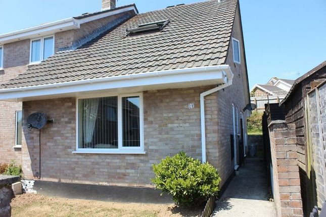 Thumbnail Terraced house for sale in Helleur Close, St. Blazey, Par