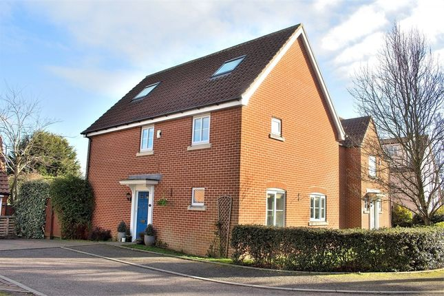Thumbnail Detached house for sale in David Wright Close, Dunmow