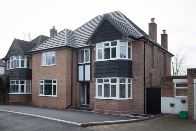 Thumbnail Detached house for sale in Lichfield Road, Four Oaks, Sutton Coldfield