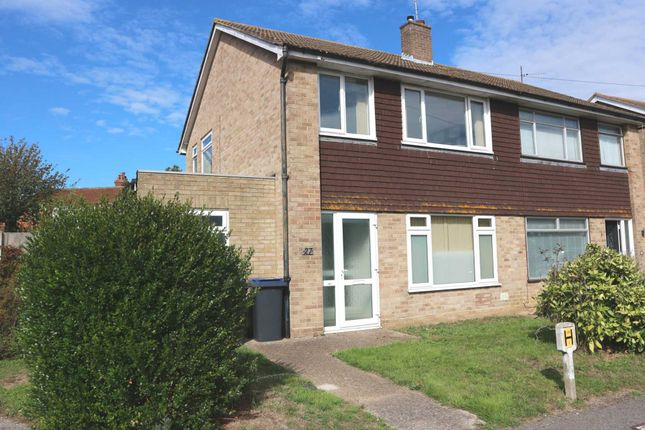 Thumbnail Semi-detached house to rent in Maple Close, Rough Common