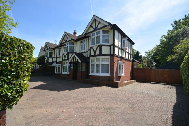 Thumbnail Detached house for sale in Sylvan Avenue, Emerson Park, Hornchurch