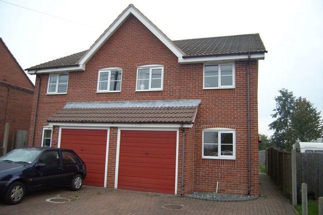 Thumbnail Semi-detached house to rent in New Street, Measham, Swadlincote