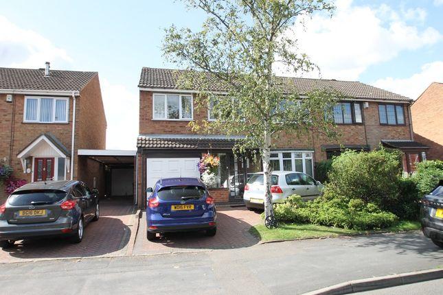 Thumbnail Semi-detached house for sale in Wilnecote Lane, Belgrave, Tamworth