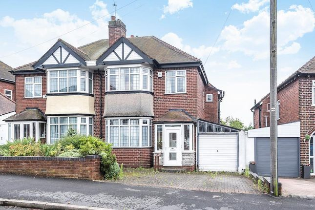 Thumbnail Semi-detached house for sale in Landswood Road, Oldbury, West Midlands