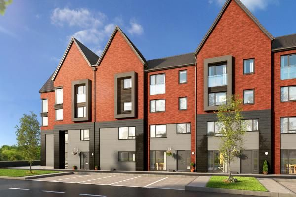 "Thumbnail Property for sale in ""The Ashton At Upton Place, Northampton"" at Saxon Lane, Upton, Northampton"