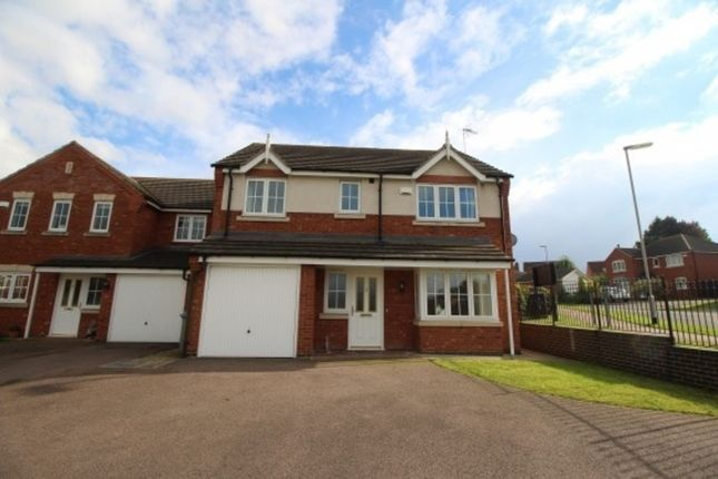 Thumbnail Detached house to rent in Carnoustie Close, Grantham