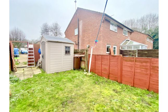 1 bed semi-detached house for sale in Anderson Walk, Bury St. Edmunds IP32