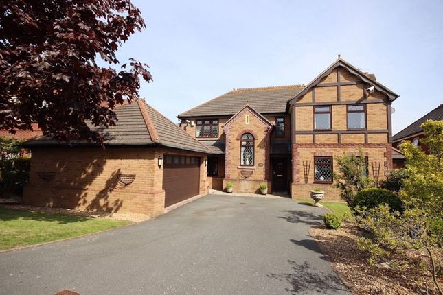 Thumbnail Detached house for sale in Coed Y Bwlch, Deganwy, Conwy
