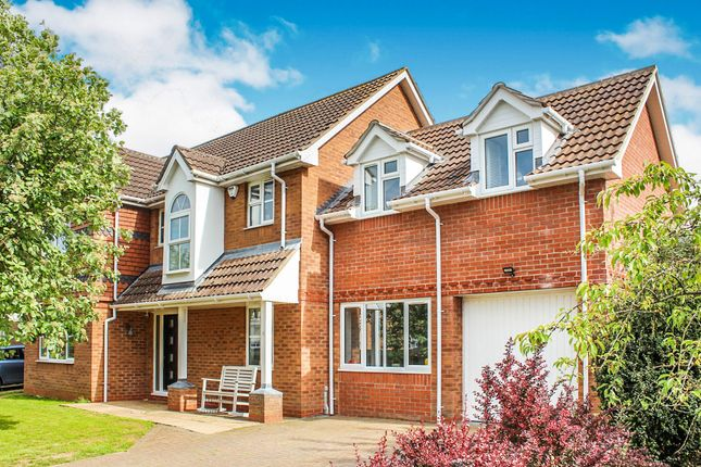 Thumbnail Detached house for sale in Bristow Road, Cranwell Village, Sleaford