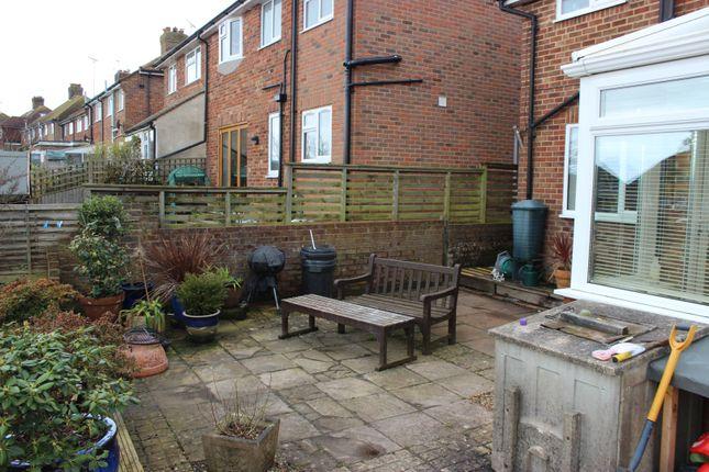 Rear Garden of Firle Crescent, Lewes BN7