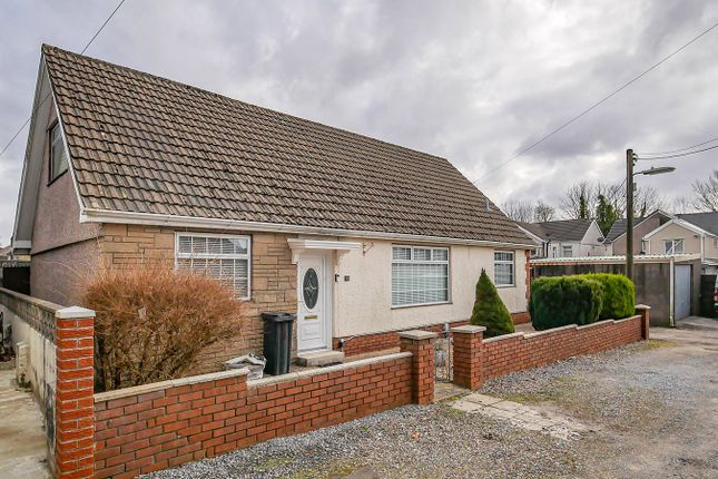 Thumbnail Detached bungalow for sale in Woodside, Cadoxton, Neath