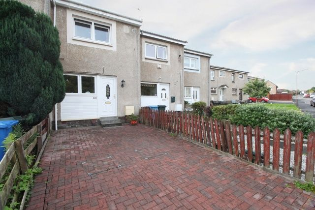 Thumbnail Terraced house for sale in Rowan Crescent, Bonnyhill, Falkirk, Stirlingshire