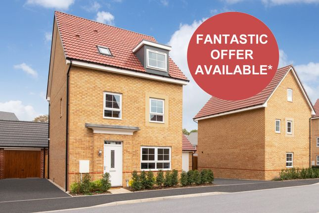 """Thumbnail Detached house for sale in """"Fircroft"""" at Somerset Avenue, Leicester"""