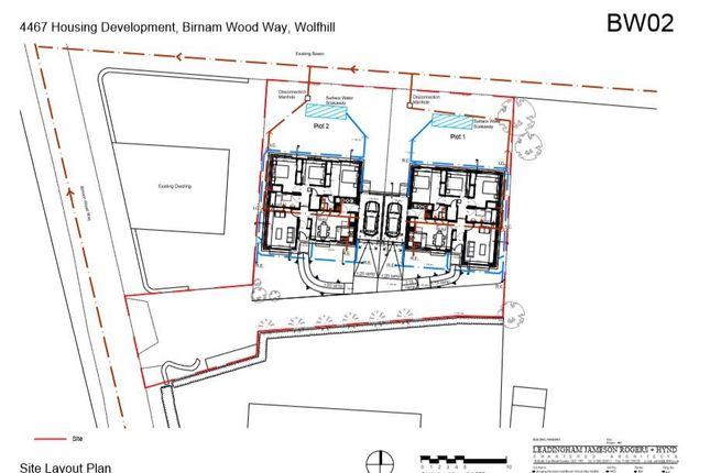 Elevations Birnam Wood Way Site Plan