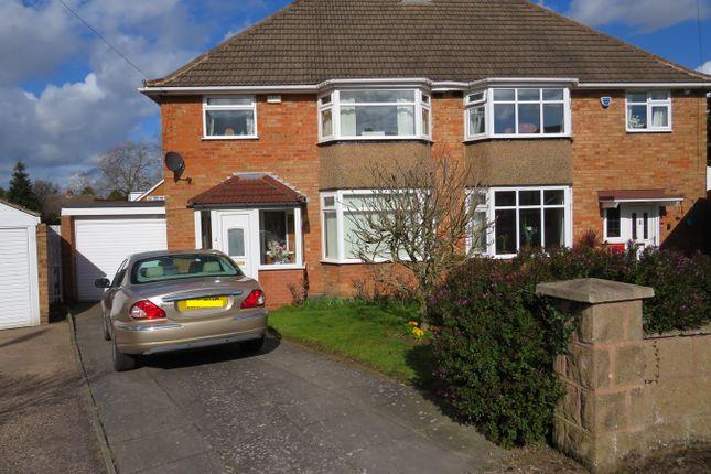 Thumbnail Semi-detached house for sale in Clayton Drive, Castle Bromwich, Birmingham