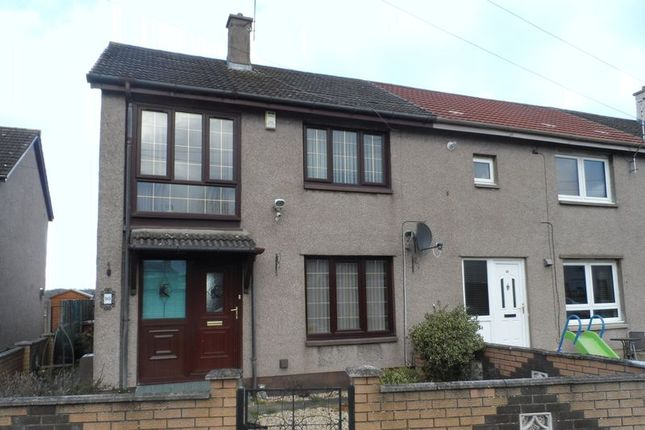 Thumbnail End terrace house to rent in Cameron Park, Thornton, Kirkcaldy