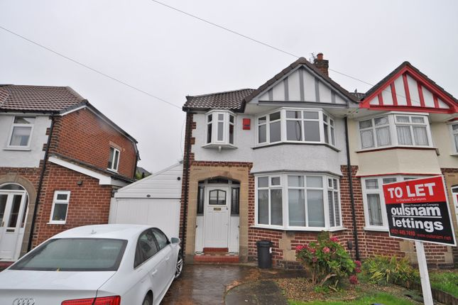 Thumbnail Semi-detached house to rent in Bristol Road South, Rednal, Birmingham