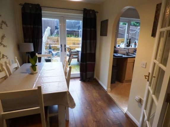 Dining Room of Clough Field Close, Whaley Bridge, High Peak, Derbyshire SK23