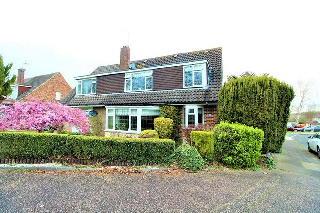 Thumbnail Semi-detached house for sale in Hazelwood, Crawley, West Sussex.
