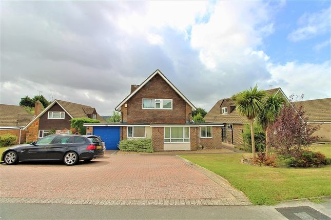 Thumbnail Detached house for sale in Buckswood Drive, Crawley, West Sussex.
