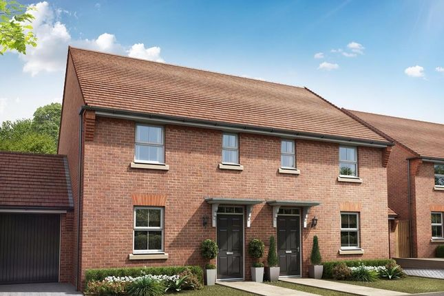 """Thumbnail Semi-detached house for sale in """"Ashworth"""" at Hook Lane, Aldingbourne, Chichester"""