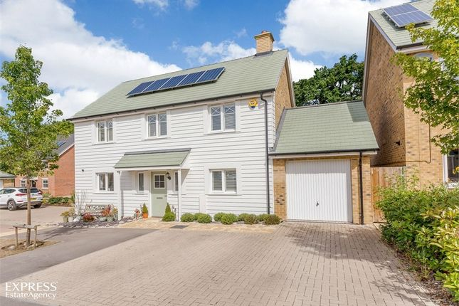 Thumbnail Detached house for sale in Grant Drive, Church Crookham, Fleet, Hampshire