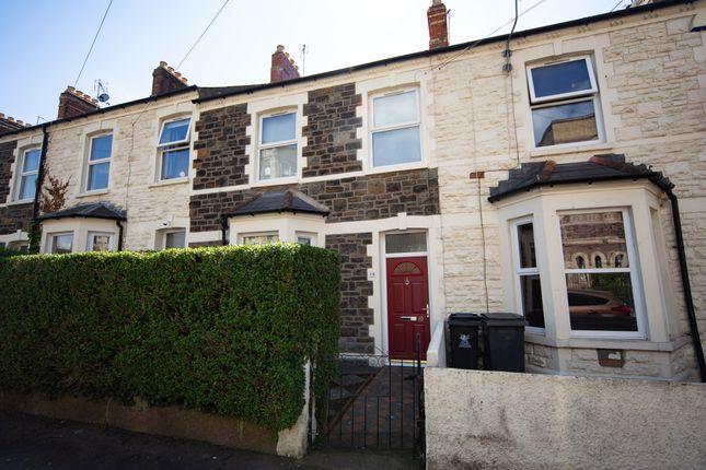 Thumbnail Terraced house to rent in Longcross Street, Roath, Cardiff