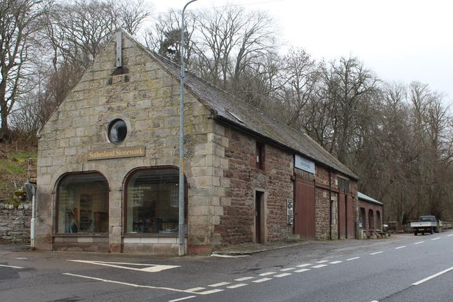 Thumbnail Retail premises for sale in Sutherland Stonework, The Coach House, Golspie, Sutherland