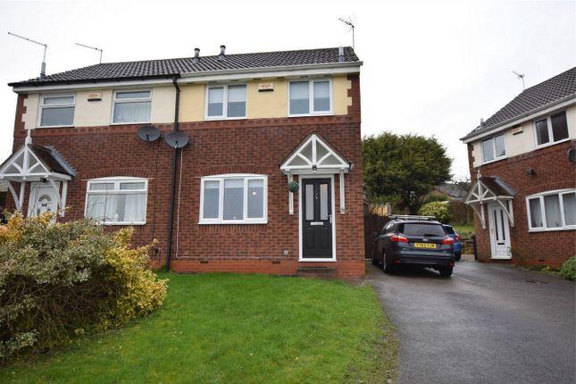 Thumbnail Semi-detached house to rent in Kedleston Court, Tibshelf, Alfreton, Derbyshire