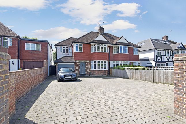 Thumbnail Semi-detached house for sale in Coombe Lane, London