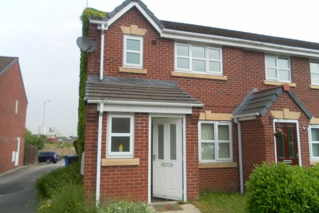 Thumbnail Semi-detached house to rent in St Patricks Close, Widnes, Merseyside