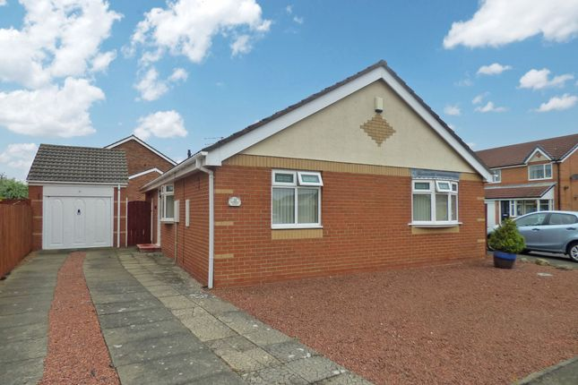 Thumbnail Bungalow to rent in Deerfell Close, Ashington