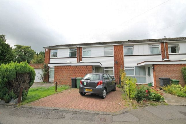 Thumbnail Terraced house to rent in Fennells Mead, West Ewell, Epsom