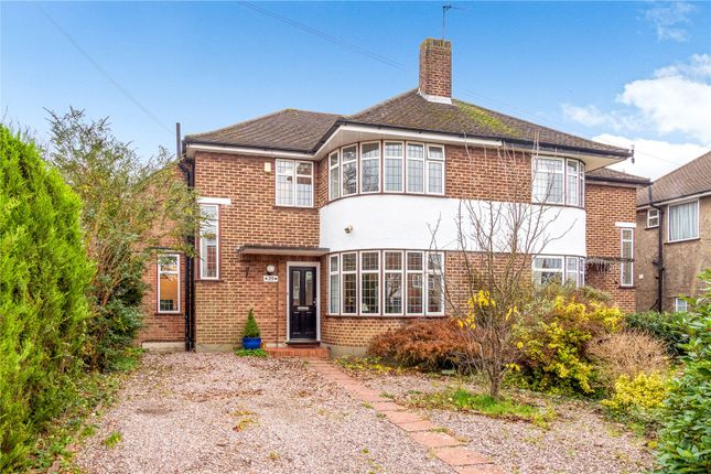 Thumbnail Semi-detached house for sale in Broadcroft Road, Orpington, Kent