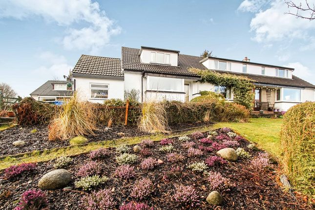 Thumbnail Detached house for sale in Grosvenor Crescent, Connel, Oban