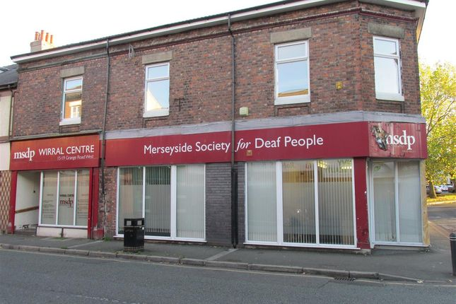Thumbnail Commercial property for sale in Grange Road West, Birkenhead