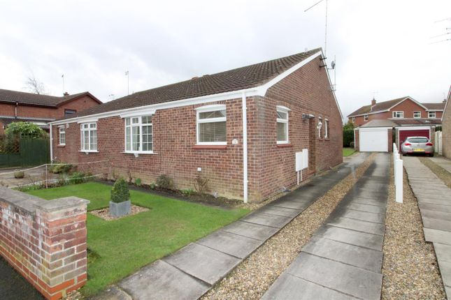 Thumbnail Semi-detached bungalow for sale in Brereton Close, Beverley