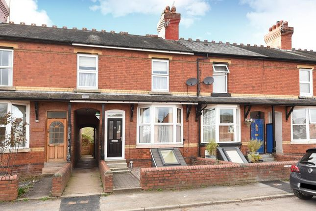 Thumbnail Terraced house to rent in Whitecross, Hereford